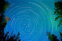 Star Trails Quesnel