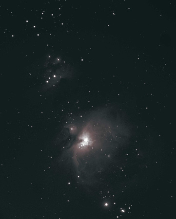 Version 2 of M42-43 Orion Nebula