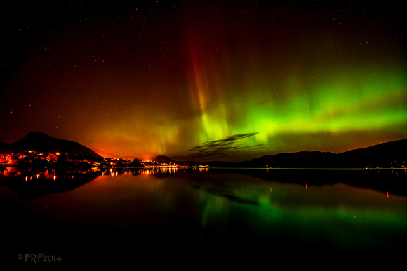 Aurora 1813 from Powell Beach, Summerland BC 5.8.2014