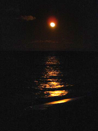 Moonrise sequence in Cuba 2