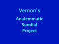 Vernon Analemmatic Sundial